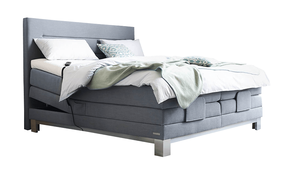 boxspring bett ohne matratze inter boxspringbett stoff schwarz cm. Black Bedroom Furniture Sets. Home Design Ideas